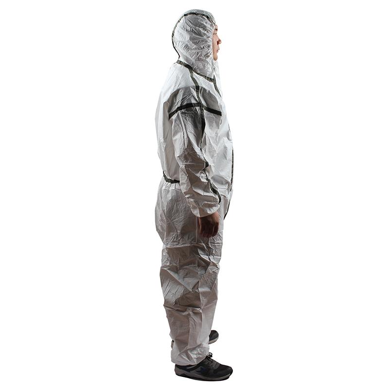 雷克兰 AMN428ETS 麦克斯胶条型医用防护服(灭菌型)S